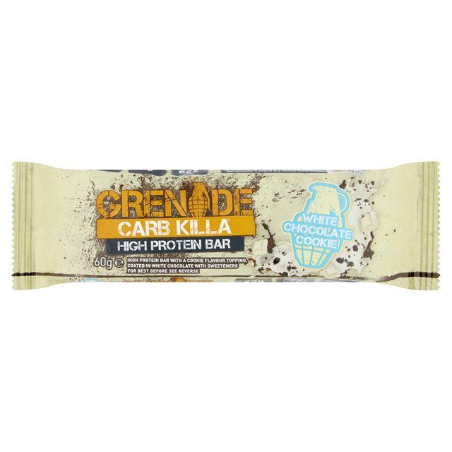 Grenade Carb Killa White Chocolate Cookie Protein Bar 60g