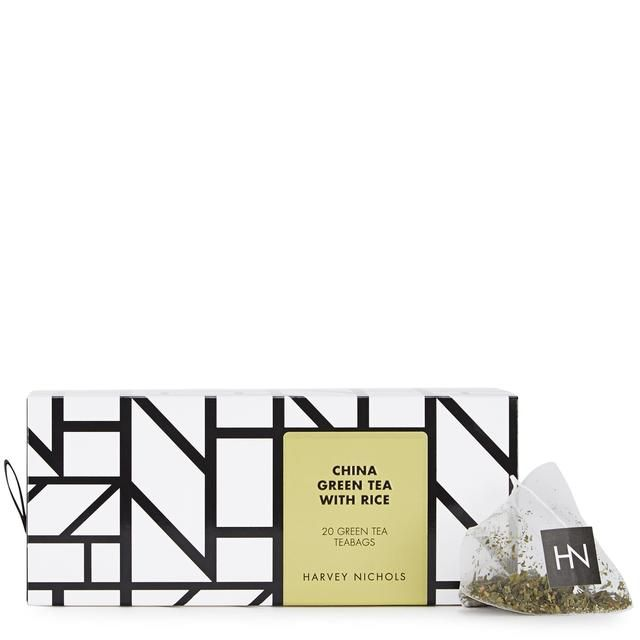 Harvey Nichols China Green Tea with Rice Teabags 20 per pack