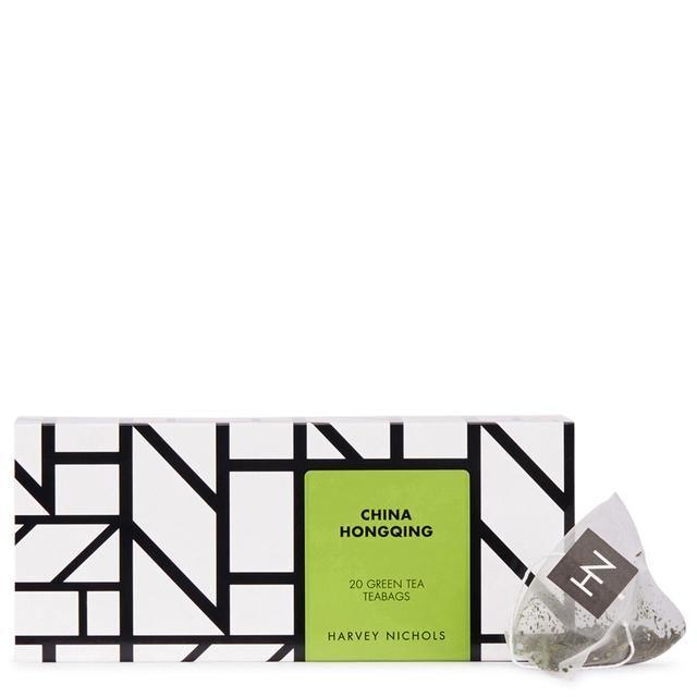 Harvey Nichols China Hongquin Green Tea Teabags 20 per pack