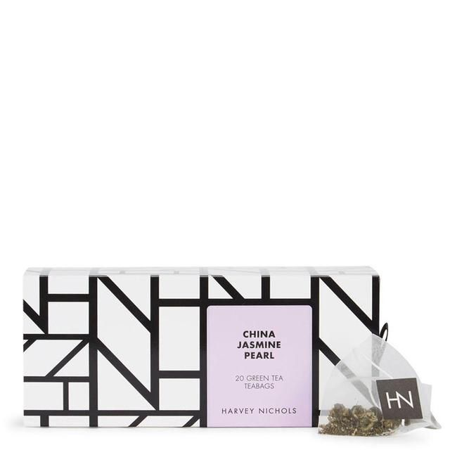 Harvey Nichols China Jasmine Pearl Green Tea Teabags 20 per pack