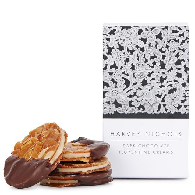 Harvey Nichols Dark Chocolate Florentine Creams 155g
