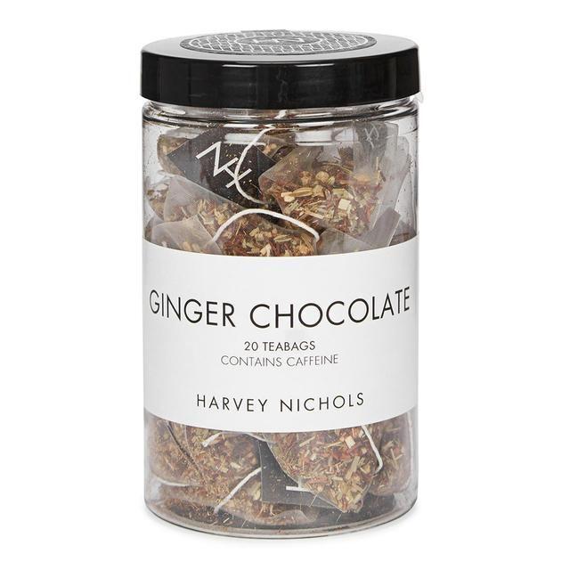 Harvey Nichols Ginger & Chocolate Teabags 20 per pack