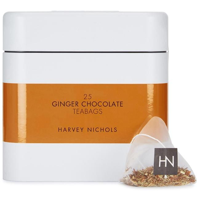 Harvey Nichols Ginger & Chocolate Teabags 25 per pack