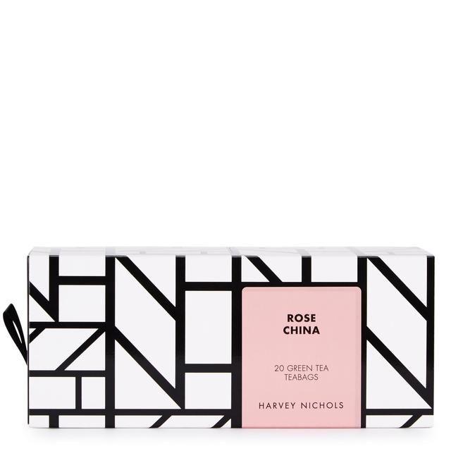 Harvey Nichols Rose China Green Tea Teabags 20 per pack