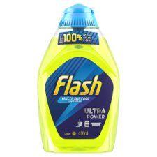 Flash Liquid Gel Lemon 400ml All Purpose Cleaner