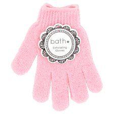 Bath Essentials Exfoliating Gloves