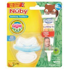 Nuby Gumeez Teething Gel and Teether