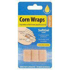 Profoot Soft Gel Corn Wraps 3S