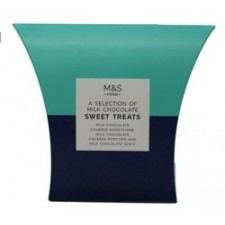 Marks And Spencer A Selection Of Milk Chocolate Sweet Treats 255g