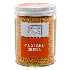 Marks And Spencer Cook With M&S Mustard Seeds 62g In Glass Jar