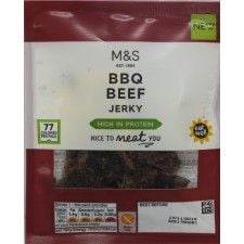 Marks And Spencer Eat Well BBQ Beef Jerky 25g