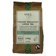 Marks And Spencer English Breakfast Loose Tea 150G