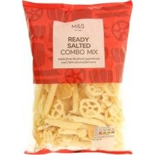 Marks And Spencer Full On Flavour Ready Salted Combo Mix 150g