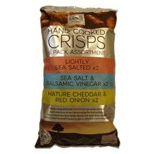 Marks And Spencer Hand Cooked Variety Crisps 6 X 30g
