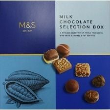 Marks And Spencer Milk Chocolate Selection Box 600g