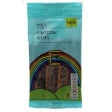 Marks And Spencer Rainbow Belts 60G