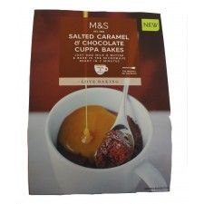 Marks And Spencer Salted Caramel And Chocolate Cuppa Bakes 240g