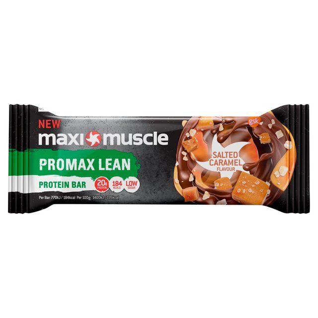 Maximuscle Promax Salted Caramel Lean Bar 55g