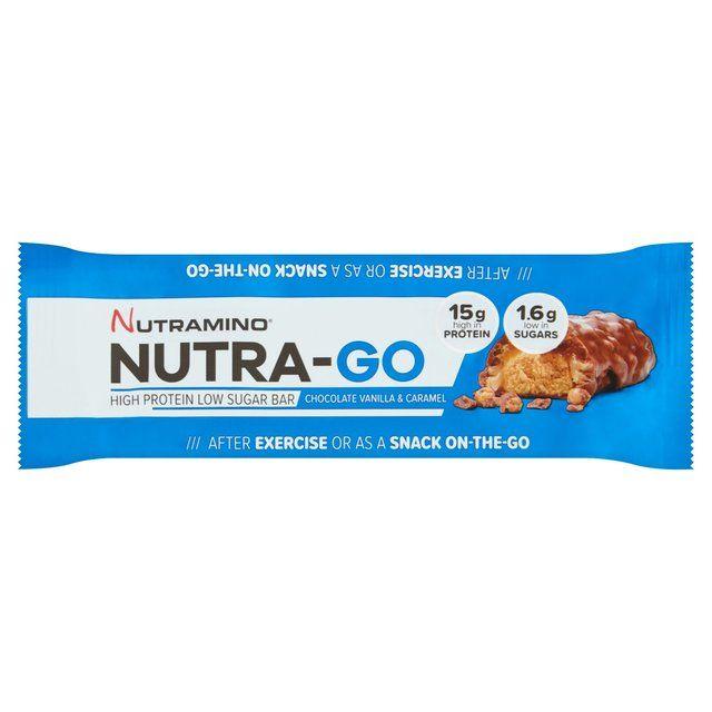 Nutra-Go Low Sugar Vanilla & Caramel Protein Bar 48g