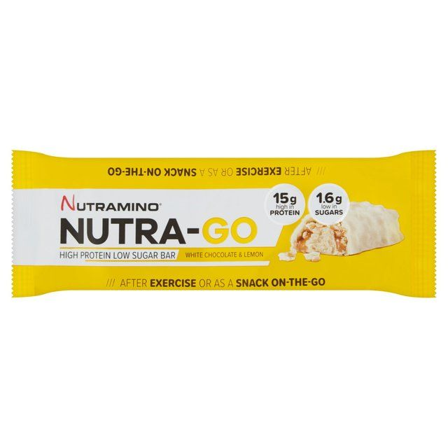 Nutra-Go Low Sugar White Chocolate Lemon Protein Bar 49g