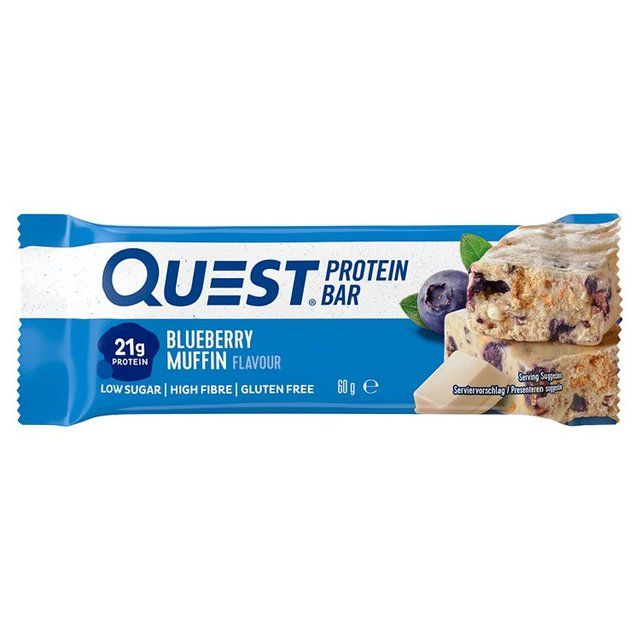 Quest Nutrition Protein Bar, Blueberry Muffin Flavour 60g