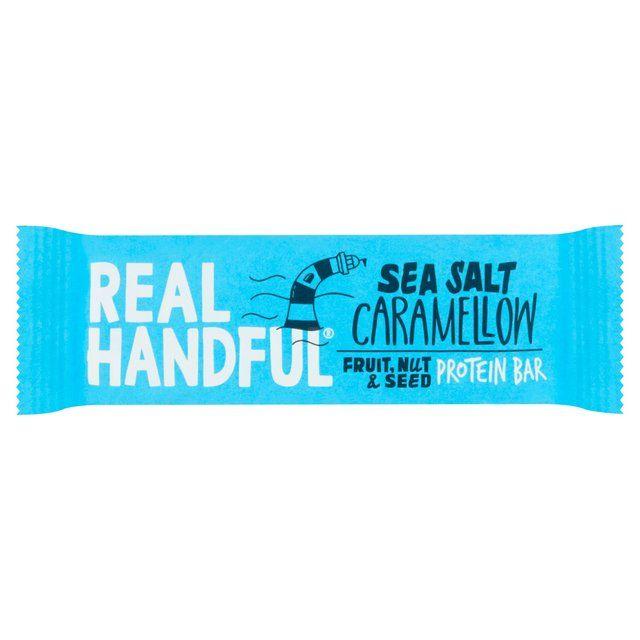 Real Handful Sea Salt Caramellow Protein Trail Bar 40g