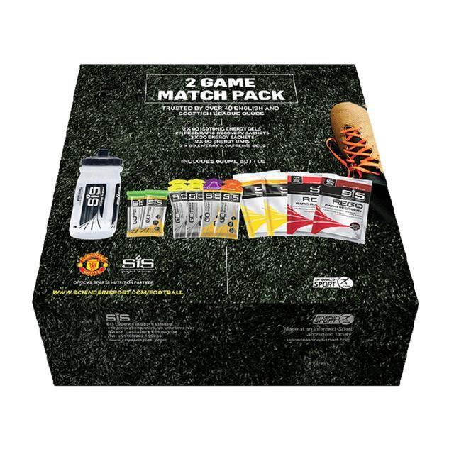 SiS 2 Game Football Energy Gel Match Pack 730