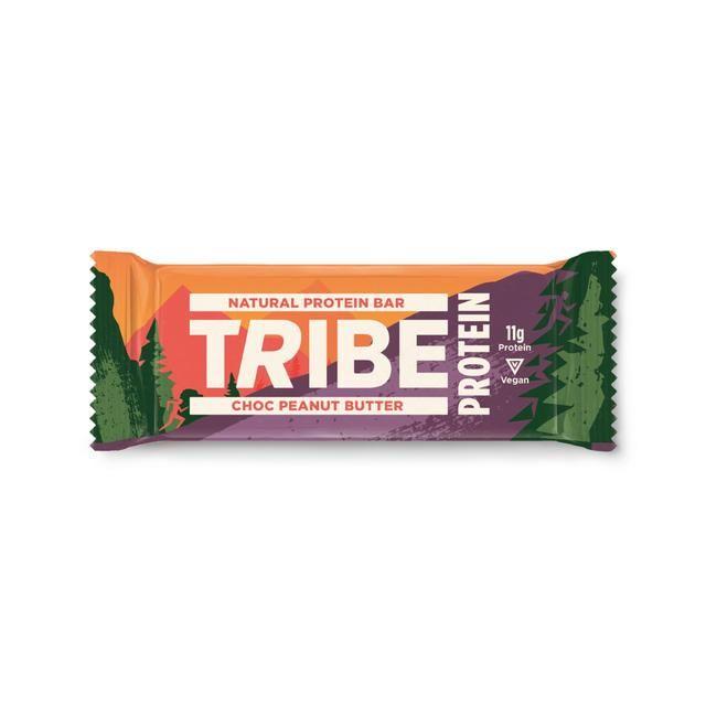 Tribe Vegan Protein Choc + Peanut Butter Bar 50g