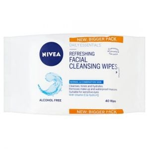Nivea Refreshing Facial Cleansing Wipes Normal Skin 40Pcs
