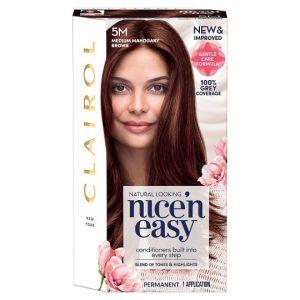 Clairol Nice 'N Easy Medium Mahogany Brown 5M Hair Dye