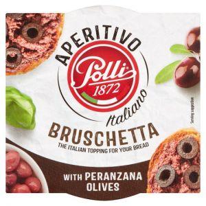 Polli Black Olive Bruschetta 120g