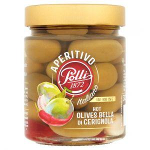Polli Bella Di Cerignola Olives Aperitivo 300g