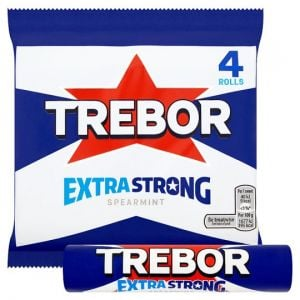 Trebor Extra Strong Spearmint 4 Pack 165.2g