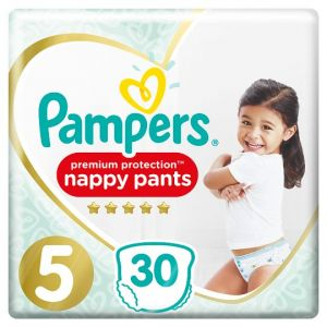Pampers Active Fit Pants Size 5 Essential Pack 30 Nappies