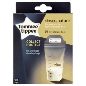 Tommee Tippee Carton Milk Storage Bag X36