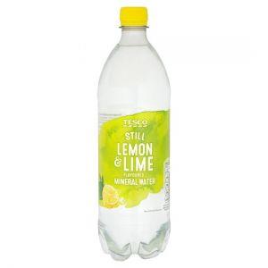 Tesco Lemon & Lime Still Flavoured Water 1Ltr