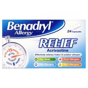 Benadryl Allergy Relief 24S