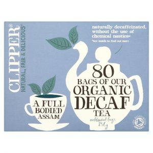 Clipper Tea Everyday Decaffeinated 80 Tea Bags