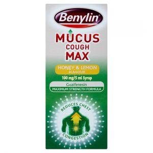 Benylin Mucus Max Honey and Lemon 300ml