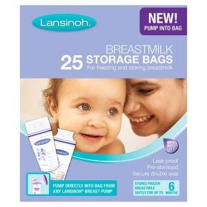 Lansinoh Breastmilk Storage Bags X25