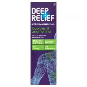 Deep Relief Anti-Inflammatory Gel 100g
