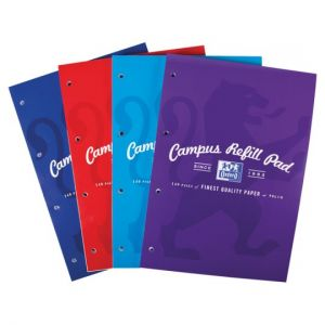 Oxford Campus A4 Refill Pad 140 Page