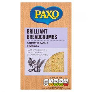 Paxo Garlic & Parsley Breadcrumbs 120g