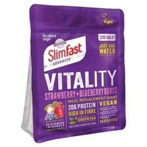 Slimfast Powder Vegan Strawberry Blueberry 450g