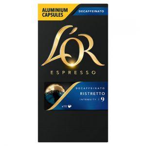 L'or. Capsule Ristretto Decaffeinated Coffee 77g