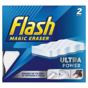 Flash Magic Eraser Ultra Power 2 Pack