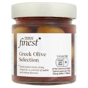 Tesco Finest Greek Olive Selection 210g