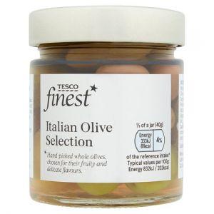 Tesco Finest Italian Olive Selection 200g