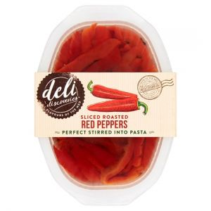 Deli Discoveries Roasted Red Peppers In Brine 200g