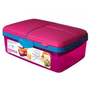 Sistema Quaddie Lunchbox Pink/Purple